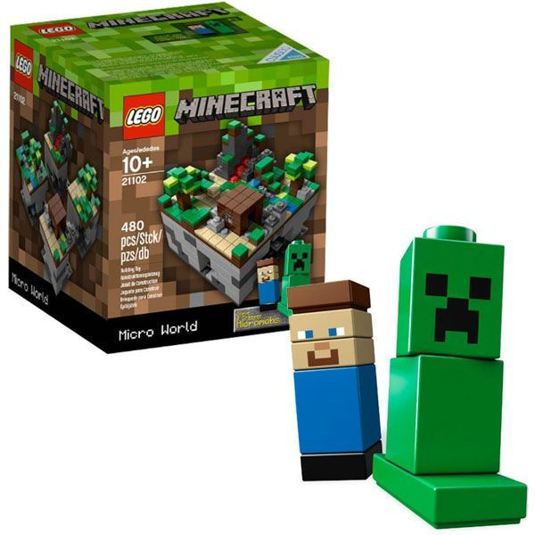 Minecraft en lego ya hizo su arribo por 35 d lares for Lego world craft