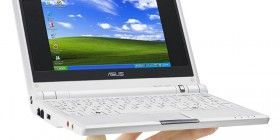Asus Eee PC con Windows XP