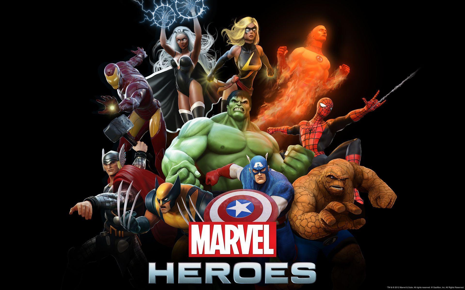 Gazillion entertainment lanzó hoy marvel heroes un juego gratis en