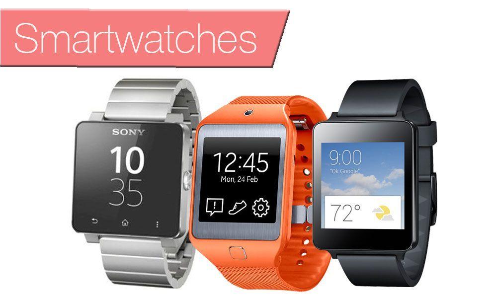 Los 3 smartwatches del momento