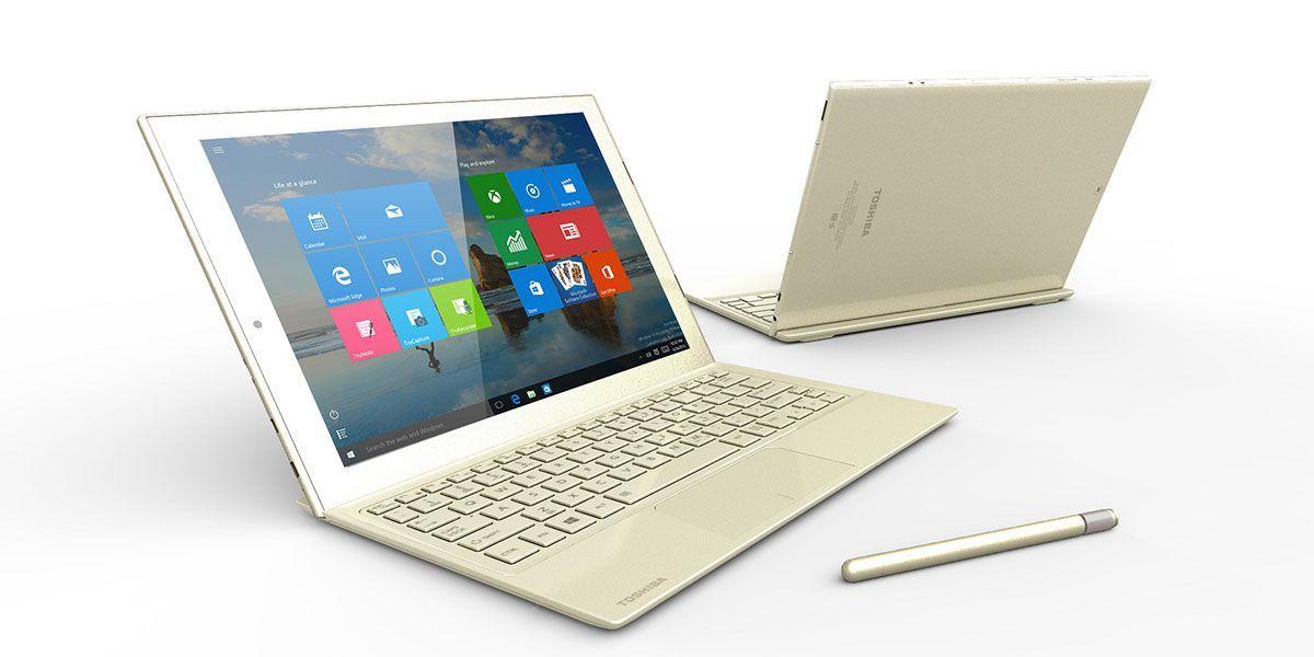 Ésta es la tablet Toshiba más delgada y ligera del mundo