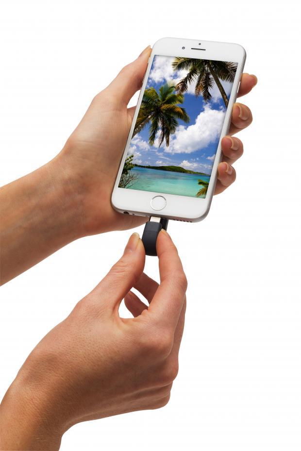 Pronto expandirás la memoria de tu iPhone con la nueva iXpand