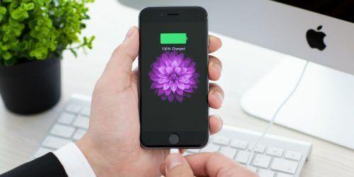 saber cuando la batería del iPhone está cargada