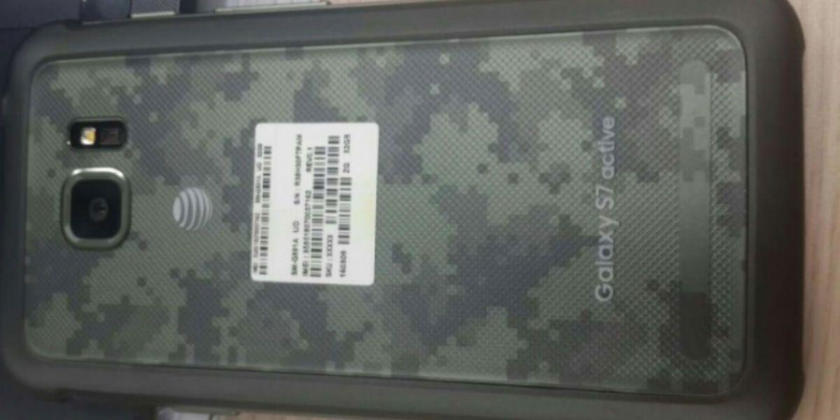 Ve las primeras imágenes del Samsung Galaxy S7 Active