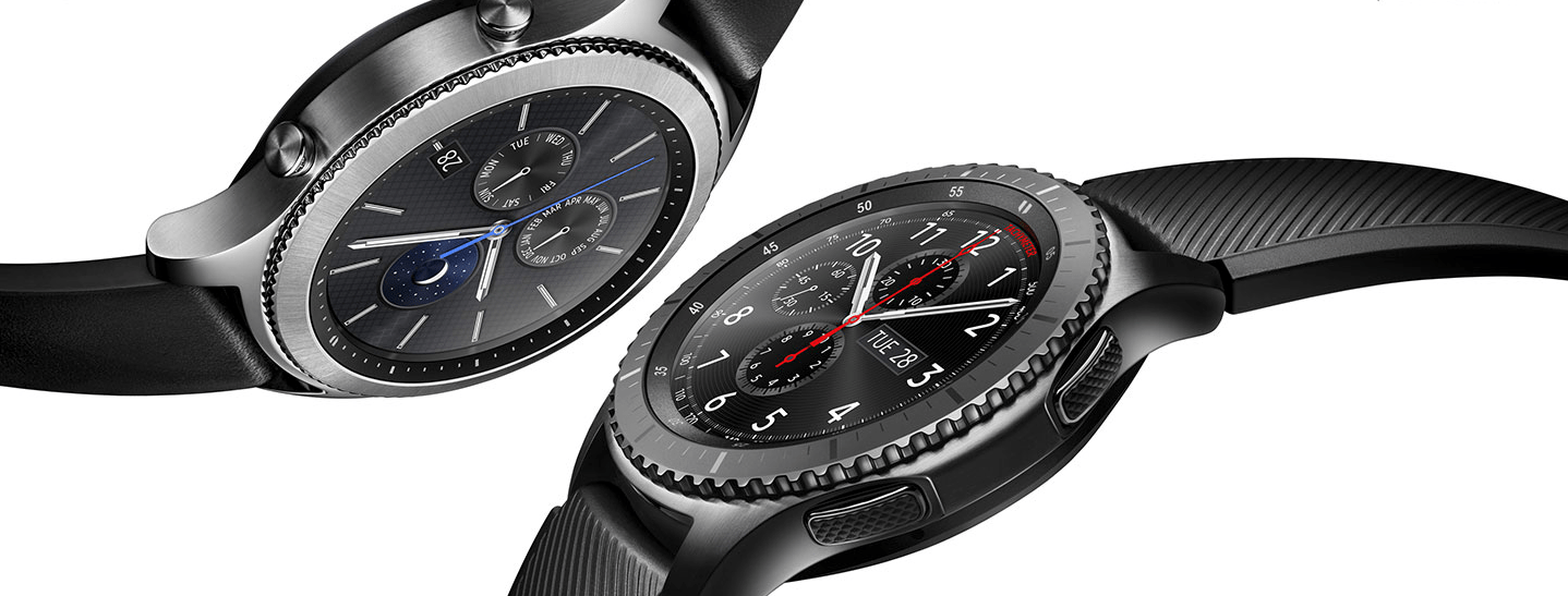 Gear S3. apple watch series 4. el samsung gear s3