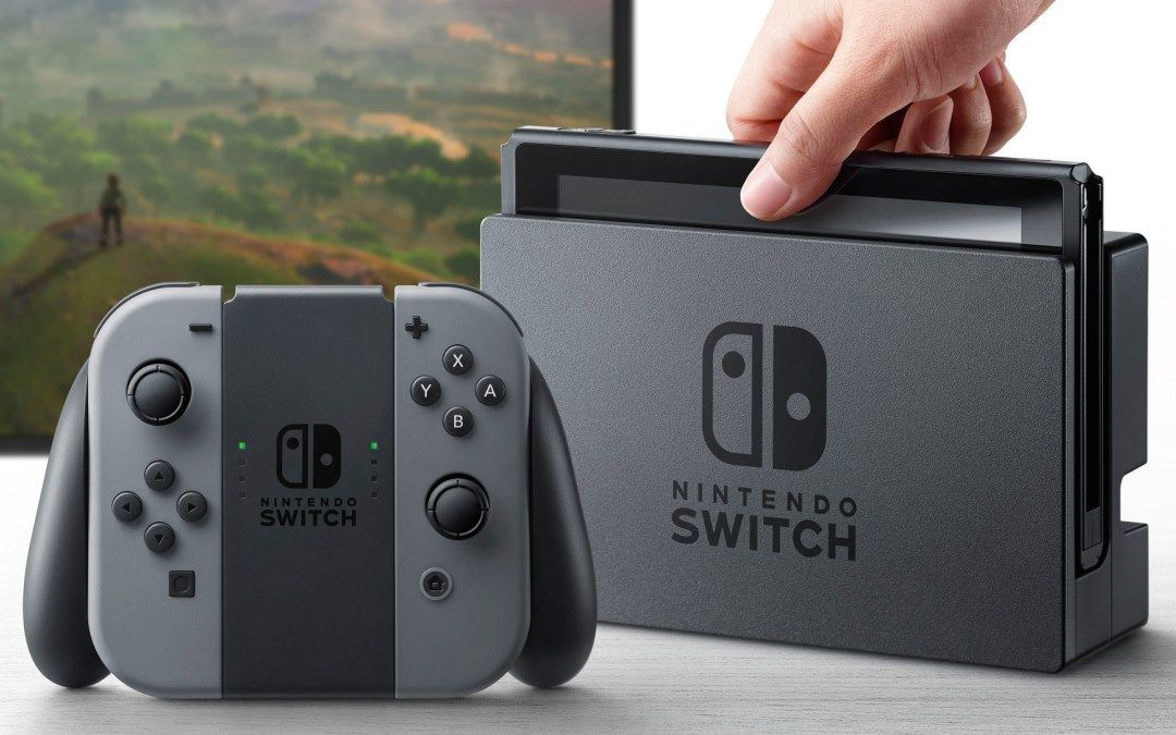 Posible precio para el Nintendo Switch. dock para Nintendo Switch