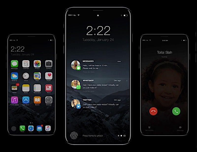 ¿Así podría ser el próximo iPhone X? Checa este diseño