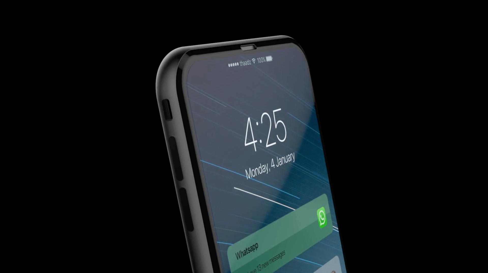 Nuevo video muestra cómo podría ser el iPhone 8. ¿Así te lo imaginas?