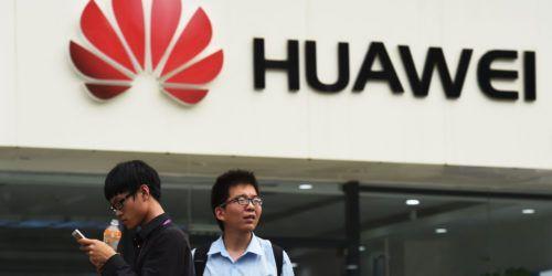 Huawei en el CES 2018. teléfonos Huawei