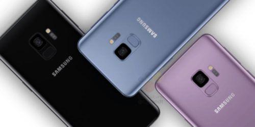 colores del galaxy s9
