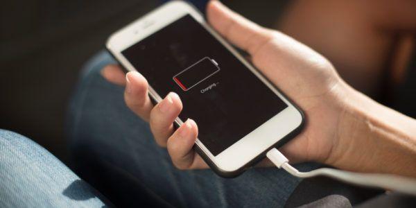 ahorrar batería. cargar el celular