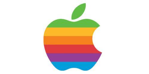 logo vintage de apple. historia de apple resumida