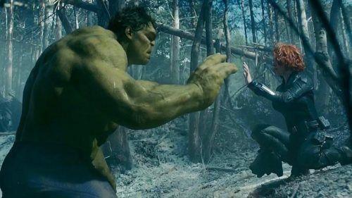 Hulk y Black Widow - Avengers Infinity War