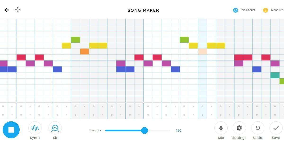 google song maker te ayudan crear tu propia musica