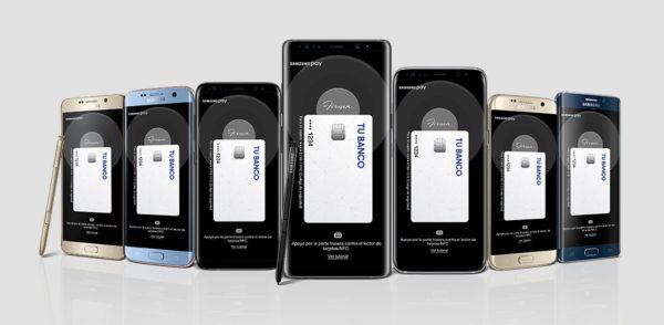 usar Samsung Pay en México.