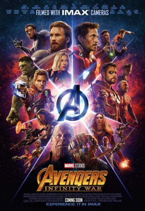 arte de avengers infinity war