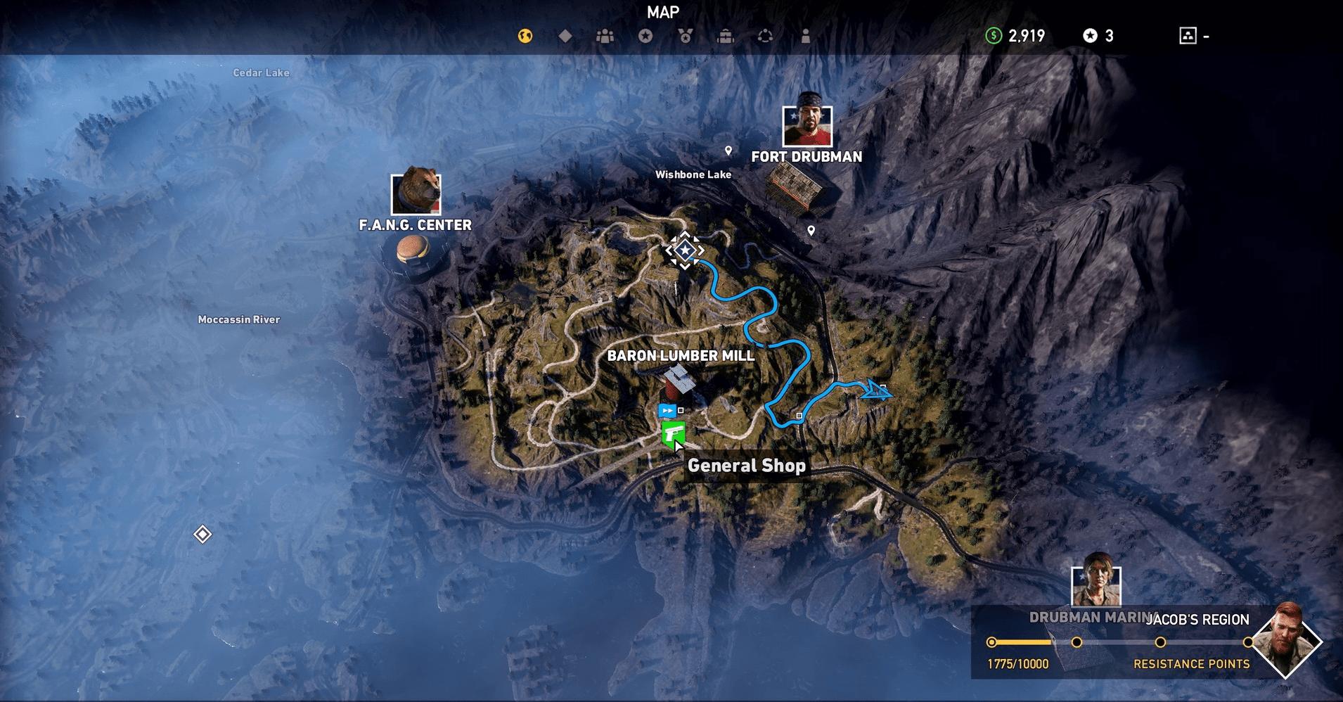 Guía de inicio de Far Cry 5