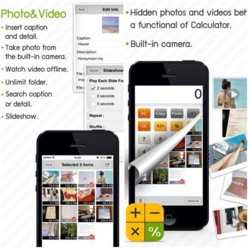 app para ocultar fotos y videos