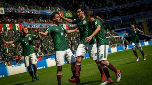 copa del mundo en fifa 18 / mexico en fifa 18 / mundial en fifa 18