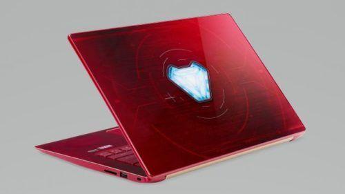 Acer Swift 3 Iron Man Edition.