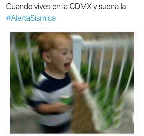 memes de la alerta sísmica