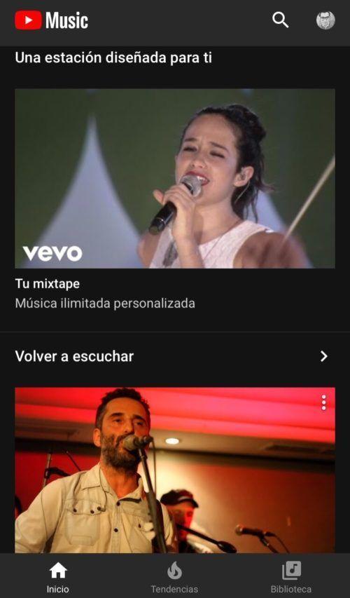 YouTube Music en México
