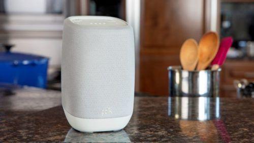 bocina con Google Assistant de Polk
