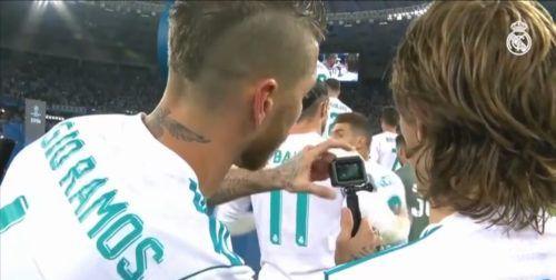 Gadgets de los futbolistas GoPro de Sergio Ramos