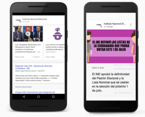 elecciones 2018 en google