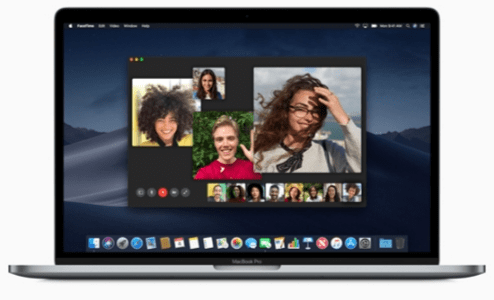 facetime macOS Mojave