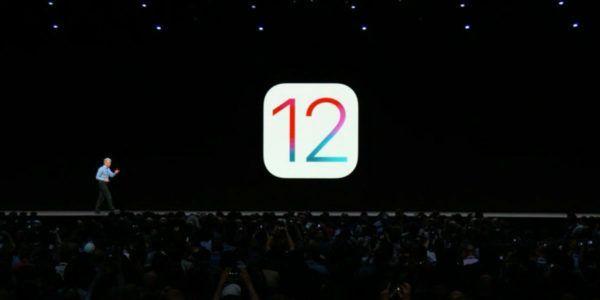 lanzamiento de iOS 12