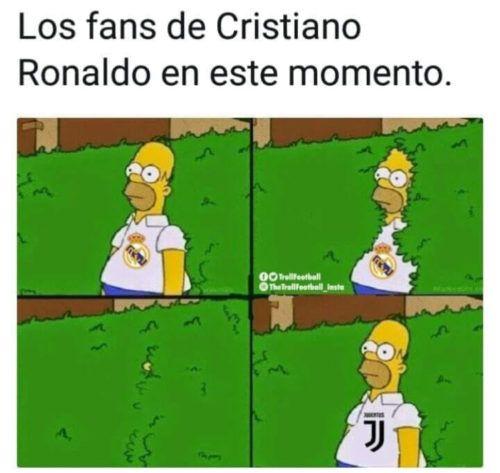 memes de cristiano ronaldo a la juventus