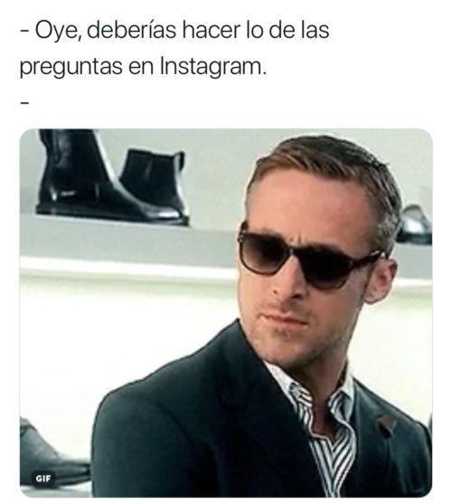 memes de las preguntas de instagram