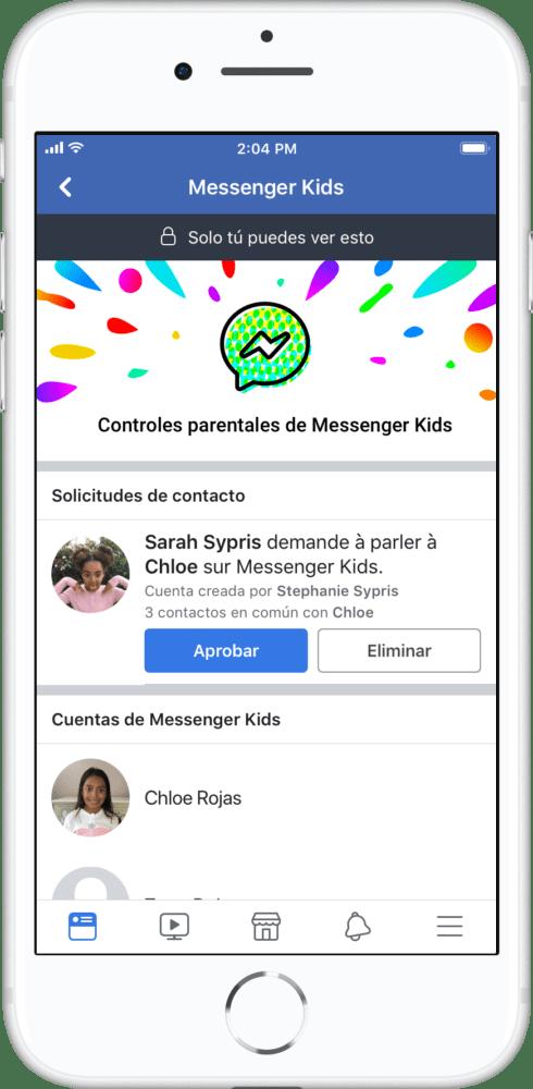 messenger kids en méxico