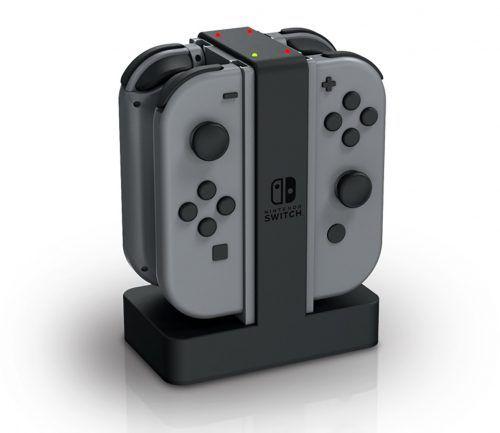 cargadores para nintendo switch