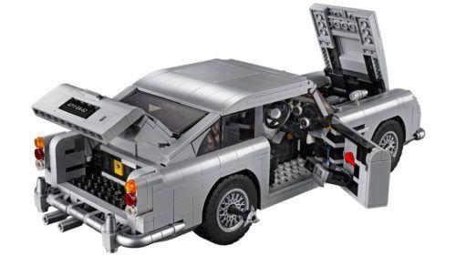 Aston Martin de James Bond en Lego