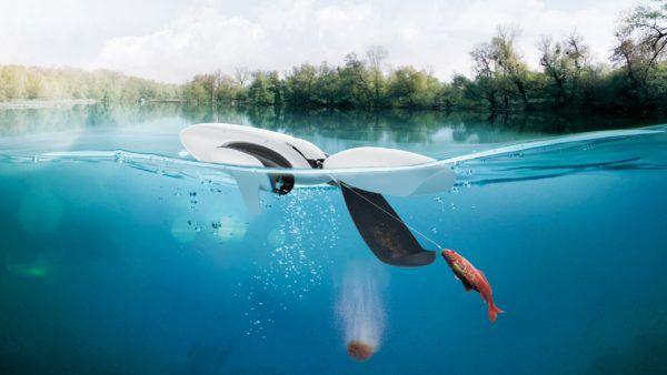 dron acuático