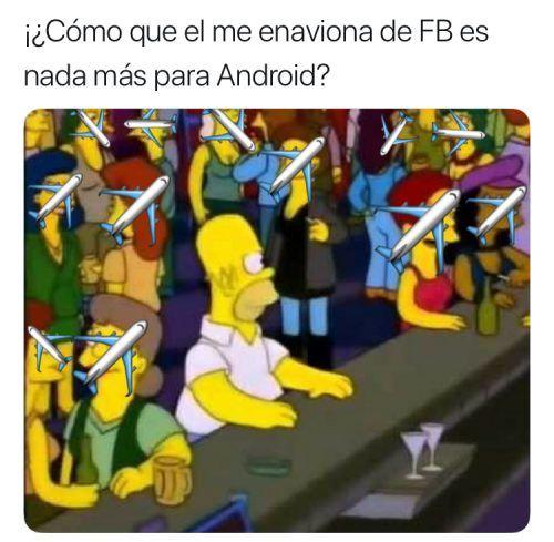 memes del me enaviona de facebook