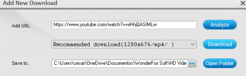 WonderFox HD Video Converter Factory