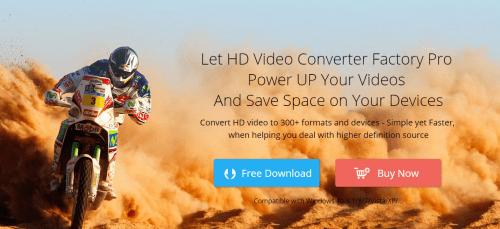 WonderFox HD Video Converter Factory.