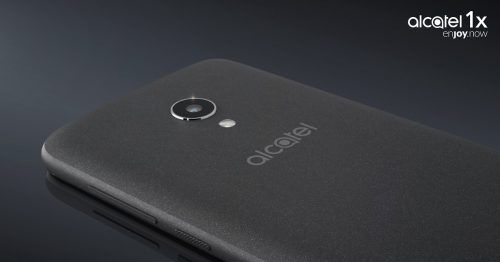 unboxing del alcatel 1x