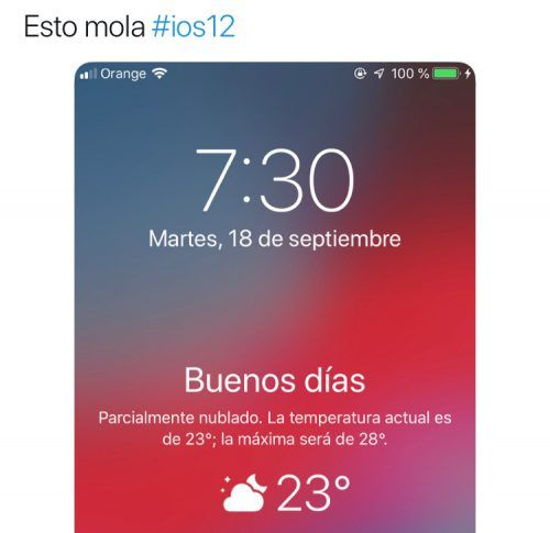 reviews de iOS 12