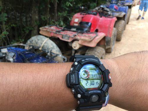 resistencia de los relojes g-shock