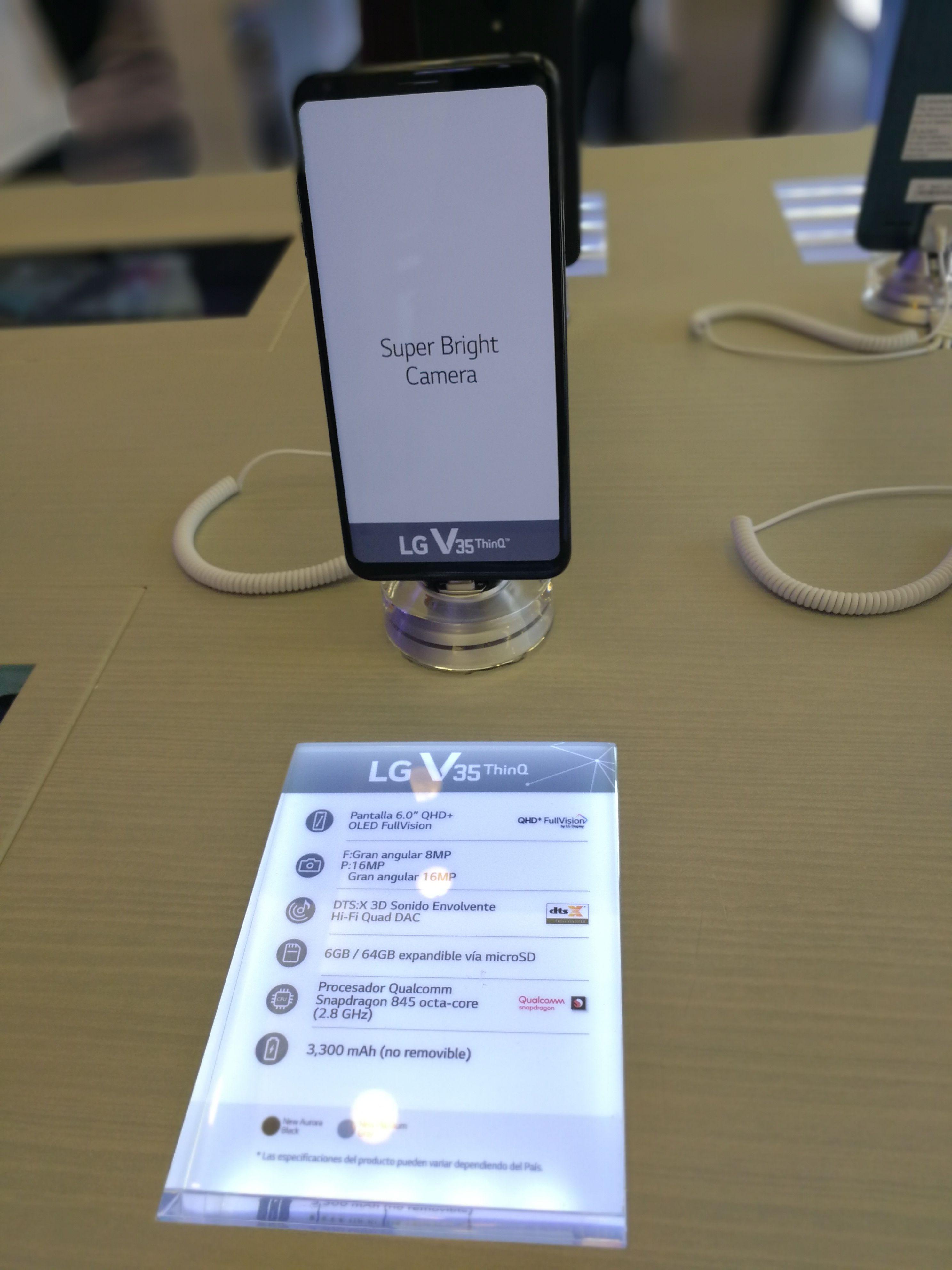 teléfonos inteligentes de LG