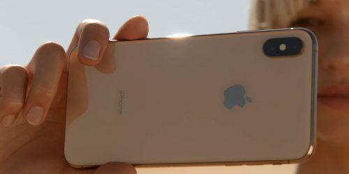 cámara del iPhone XS