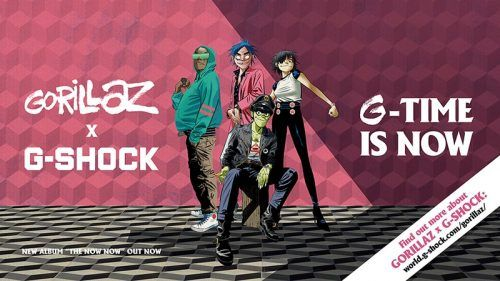 g-Shock de gorillaz g-shock en méxico
