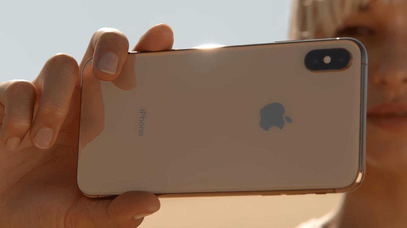 pantalla del celular iphone xs max
