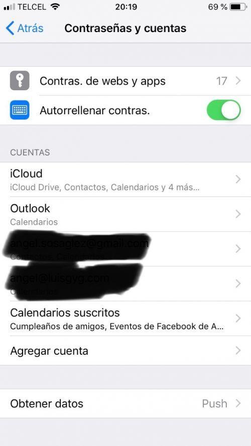 privacidad y seguridad iOS 12