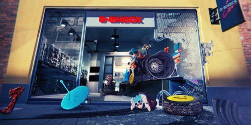 G-Shock y Gorillaz