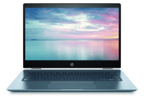HP Chromebook x360 convertible.
